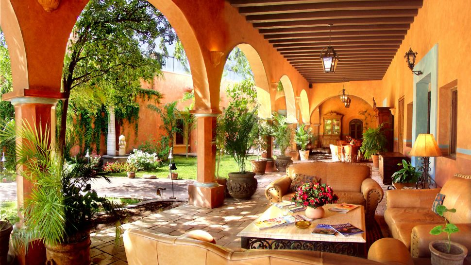 Luxury hotels in mexico kiwi collection - Mexican style patio design ...