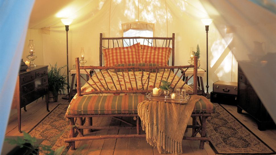 . LET S STAY  Cool Tent Home  Tent Bedroom Ideas