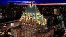 The Fairmont Hotel Vancouver  Vancouver, Canada