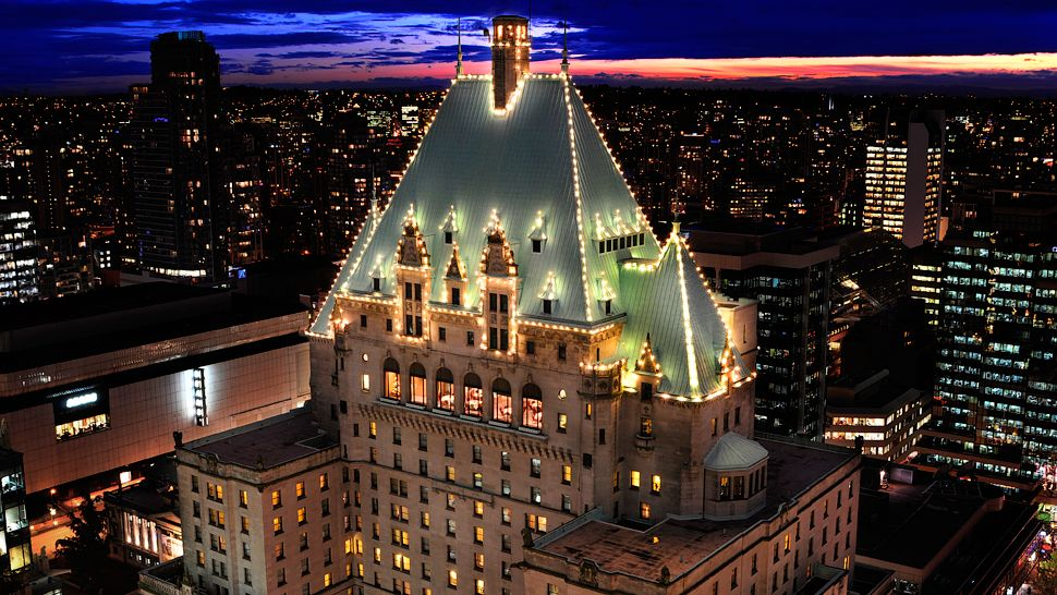 The Fairmont Hotel Vancouver — city, country