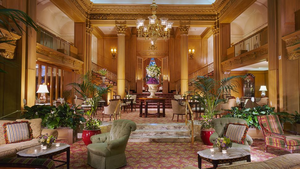 The Fairmont Olympic Hotel — city, country
