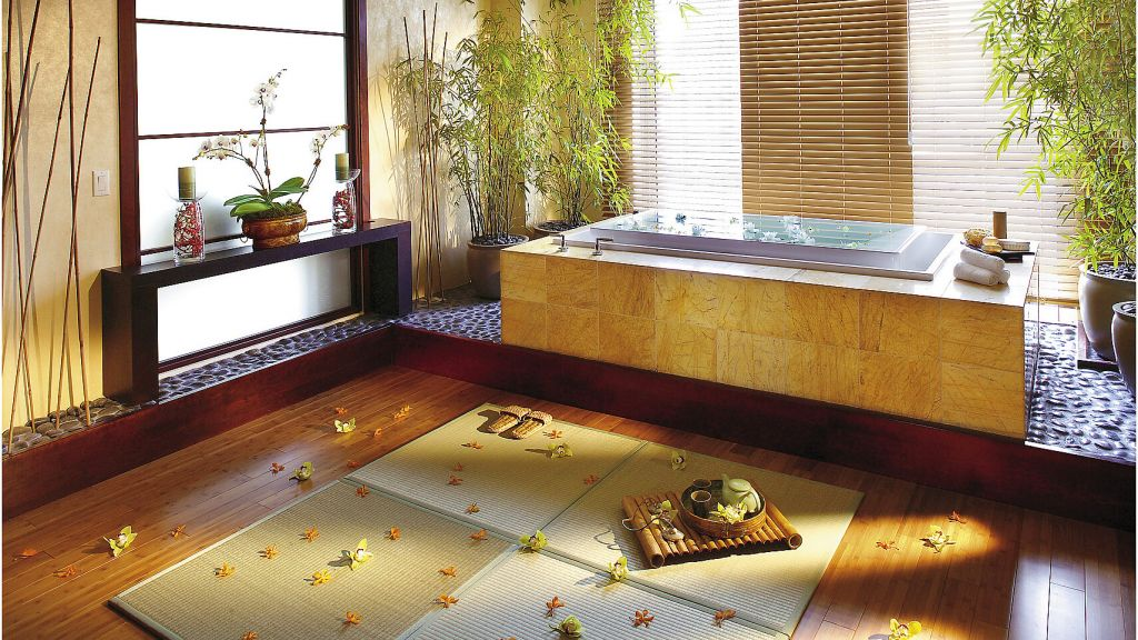 Romantic Exotic Bathroom design