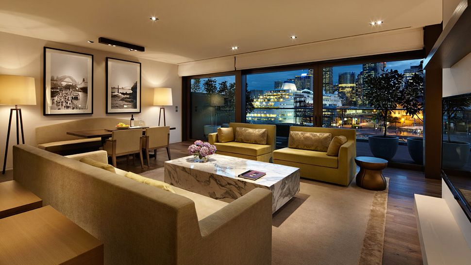 Australia luxury hotels and resorts visa signature for Hotel park hyatt sydney
