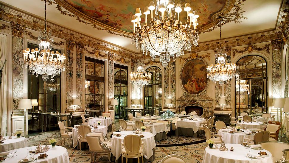 Le meurice le de france france for Le miroir resto paris