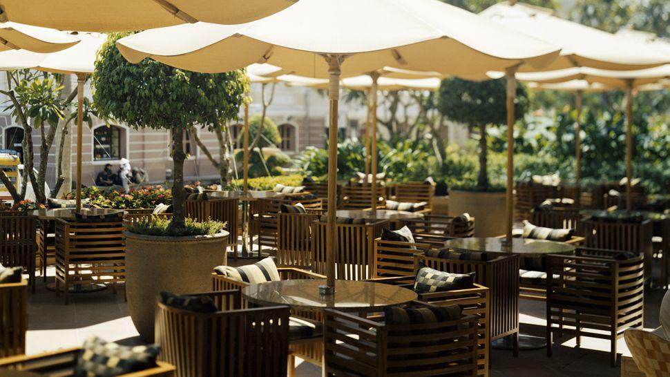 Park hyatt saigon ho chi minh vietnam for Terrace hotel breakfast