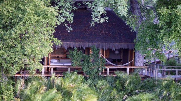 Jao Camp  Moremi Wildlife Reserve, Botswana