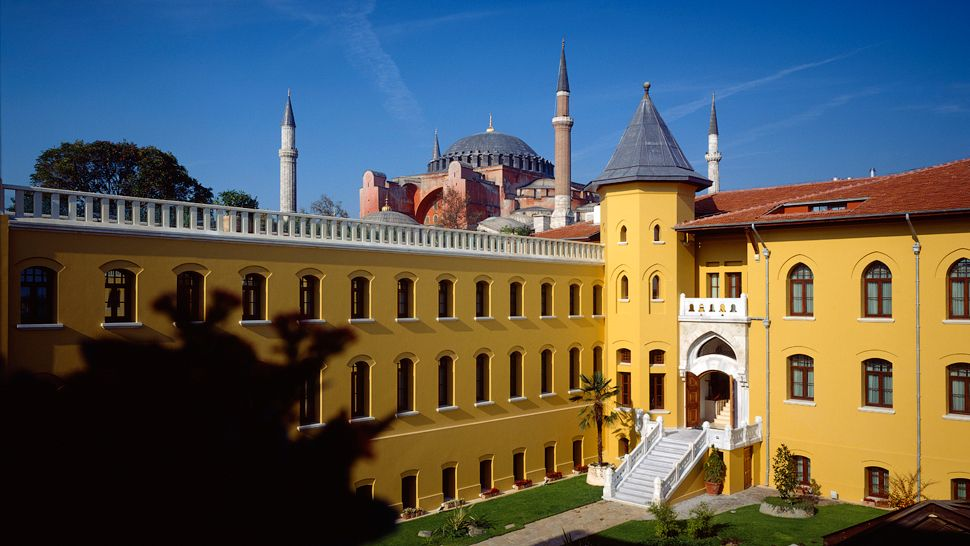 Four Seasons Hotel Istanbul at Sultanahmet  city, country