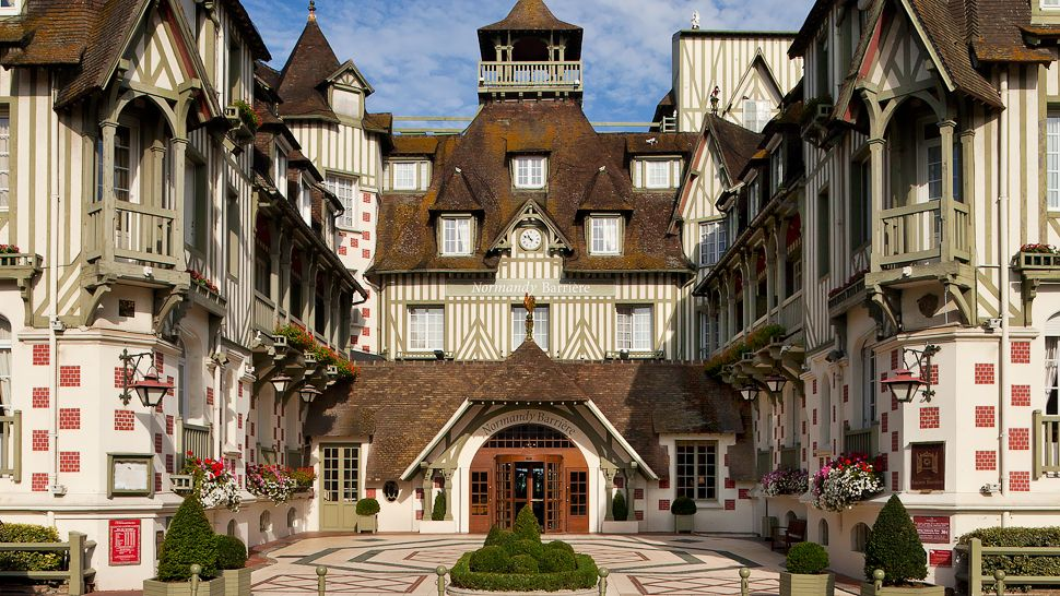Normandy barri re normandy france for Design hotel normandie france