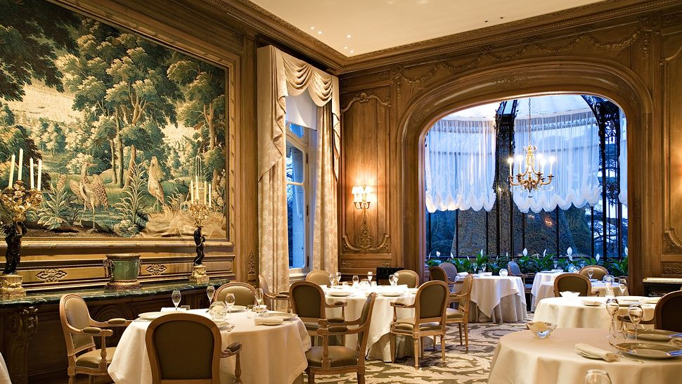 Restaurant Les Crayeres Menu