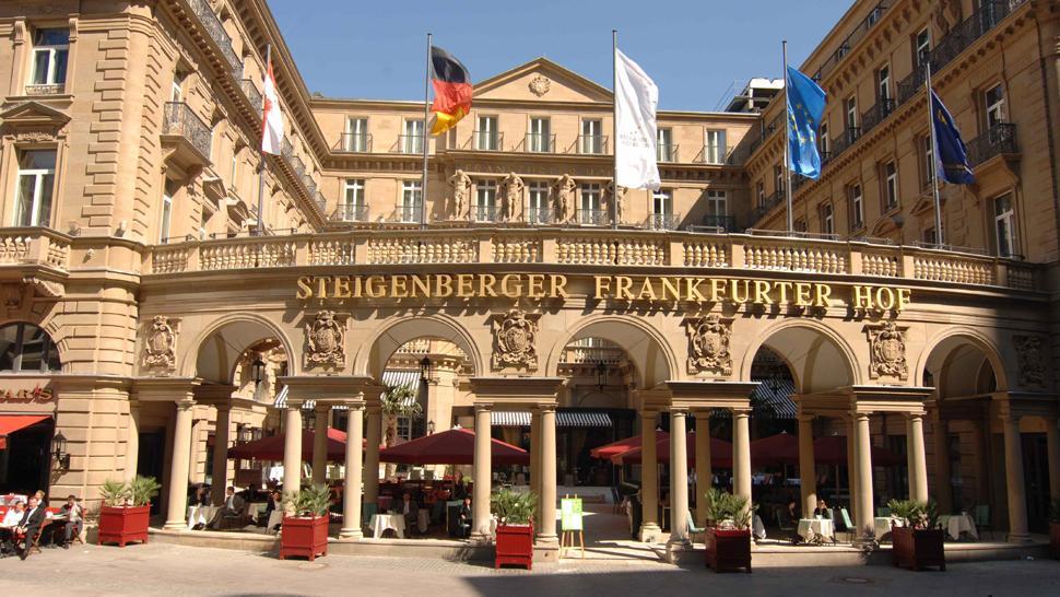 Steigenberger frankfurter hof hesse germany for Design boutique hotels waldeck hessen