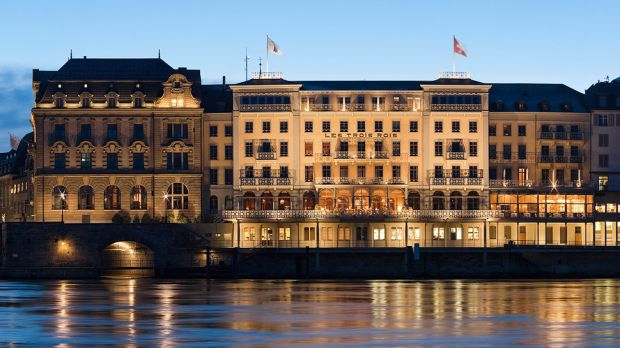 Grand Hotel Les Trois Rois  Basel, Switzerland