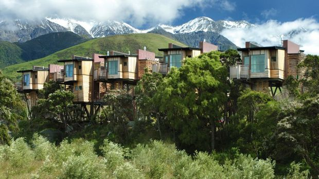 Hapuku Lodge & Tree Houses  Kaikoura, New Zealand