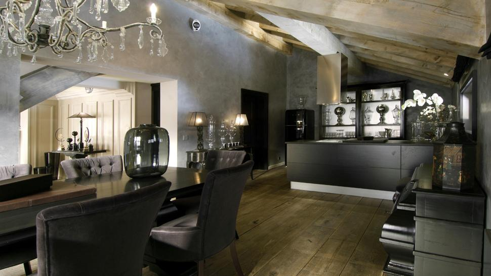 Contemporary Luxury Dining Room House Interior Design Idea With Luxury