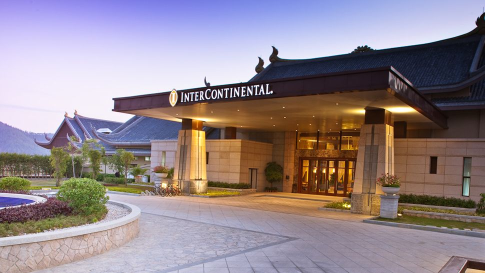 Intercontinental huizhou resort guangdong province china for Hotel entrance design