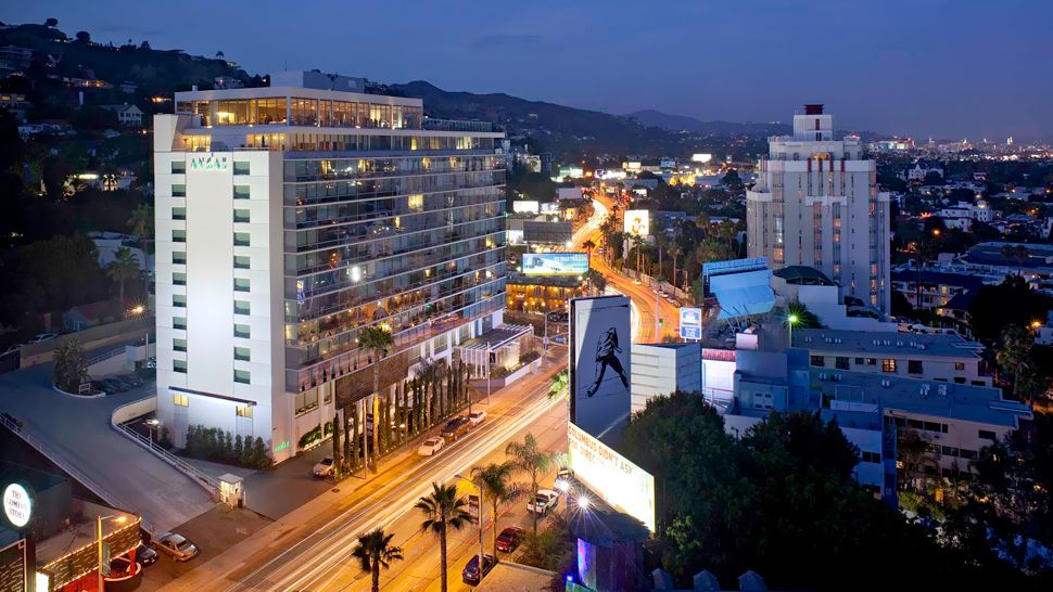 The Mondrian Hotel West Hollywood