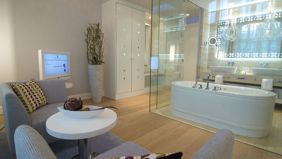 Glass Wall In Bathroom | Modern Furniture Design Blog